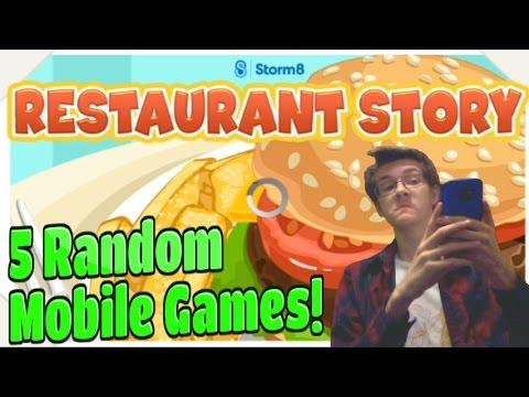 5 Random Mobile Games #1 |  Restaurant Version