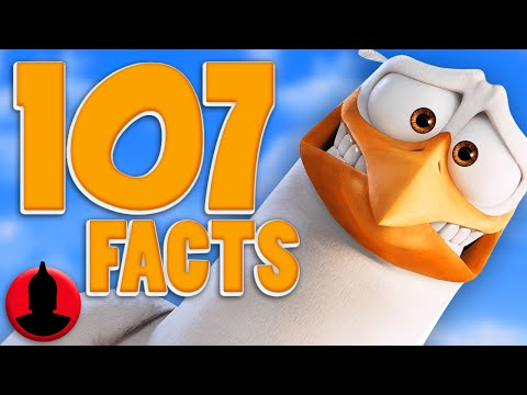Thumbnail: 107 Storks Facts - (ToonedUp #184) | ChannelFrederator
