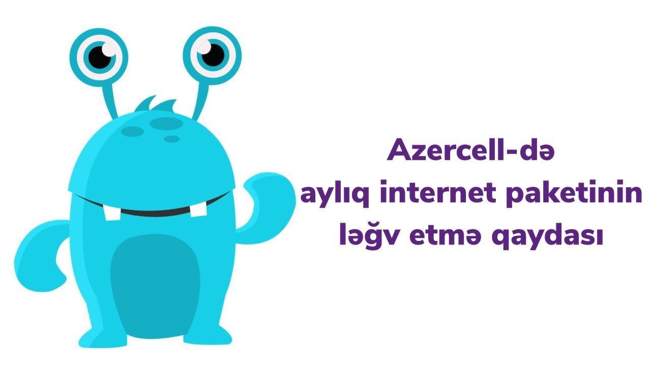 Azercell Ayliq Internet Paketi Legv Etmek Ozunet Youtube