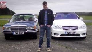 Mercedes 450 SEL vs Mercedes S350 CDI - Auto Express