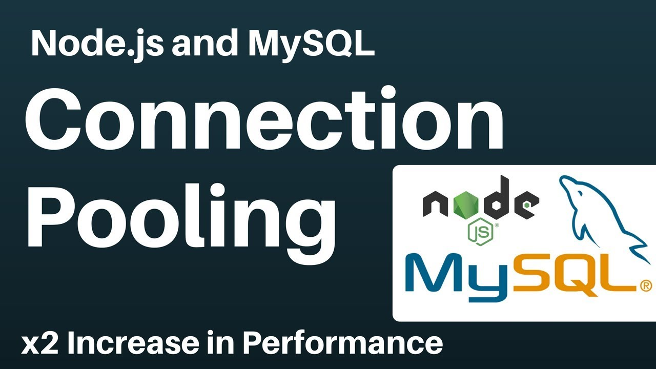Node js and MySQL Connection Pooling With Benchmarks