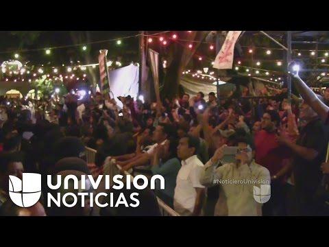 Trifulca durante la celebración del 'Grito' en Oaxaca