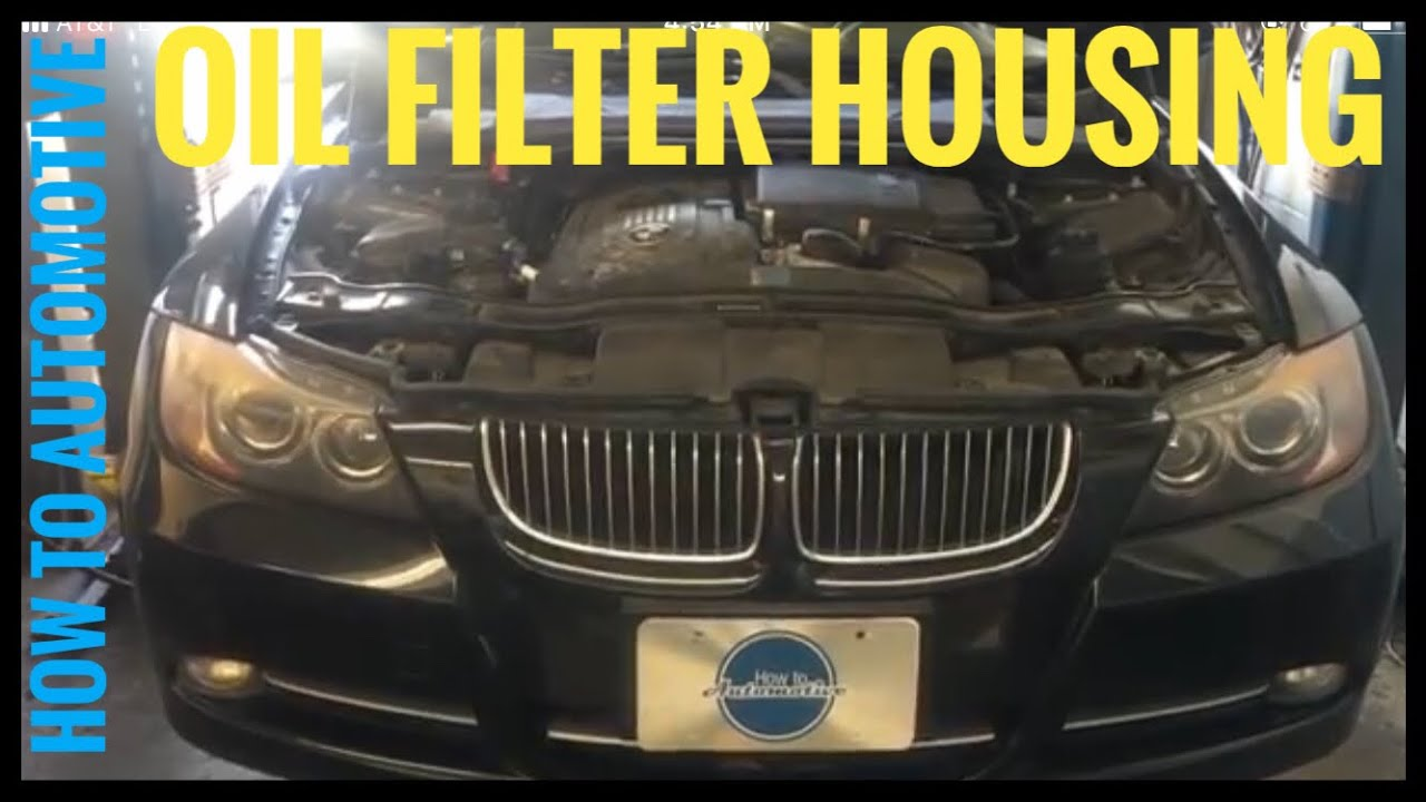 bmw oil filter housing and oil cooler gasket youtube autos post. Black Bedroom Furniture Sets. Home Design Ideas