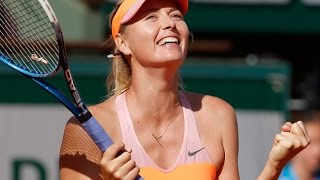 Maria Sharapova VS Eugenie Bouchard 2014 SF(RG Full)