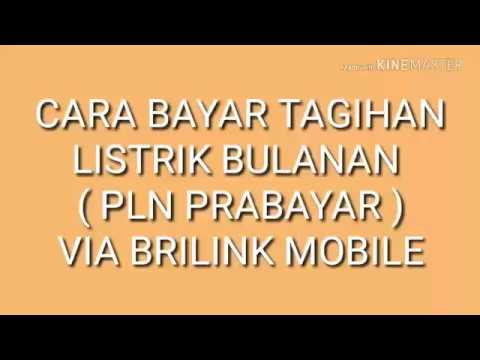 BRILINK MOBILE - BAYAR LISTRIK BULANAN (PLN PASCABAYAR)