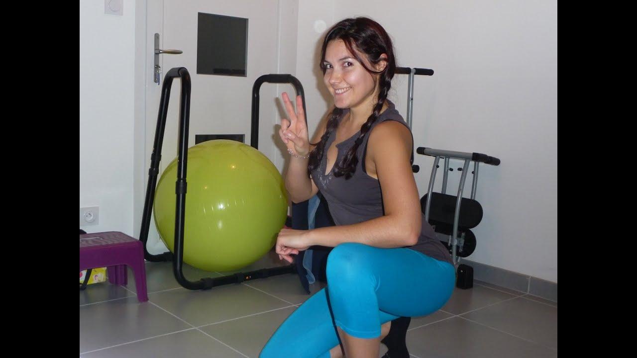 fitness routine la maison jambes fessiers sans impact. Black Bedroom Furniture Sets. Home Design Ideas