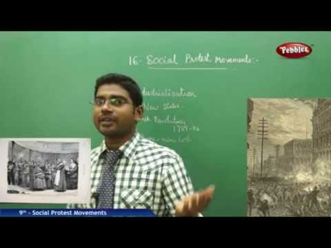 Social Protest Movements - Class 9th State Board Syllabus Social Studies