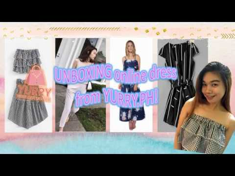 Shopping under $6 dresses on YURRY PH ! expectation vs  reality! Fail or  success?