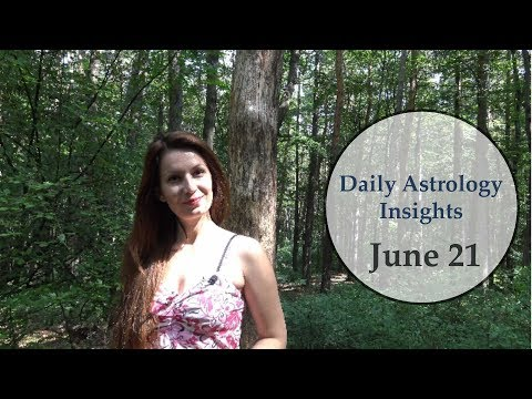 Daily Astrology Horoscope: June 21 | Sun in Cancer