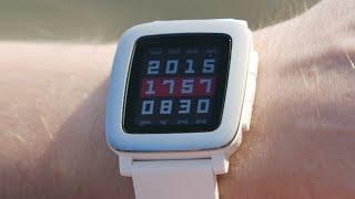 Полный обзор Pebble Time