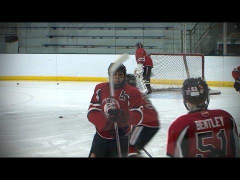 Benet Academy vs. St. Ignatius, Playoff Hockey // 03.01.18
