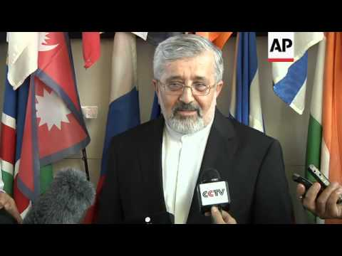 NEWS CONFERENCE AFTER MEETING OF IAEA AND IRAN