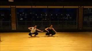Bharatnatyam fusion dance