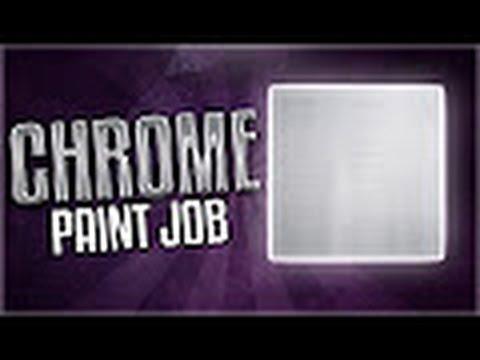 How to make a Chrome paint job | Bo3 tutorial.
