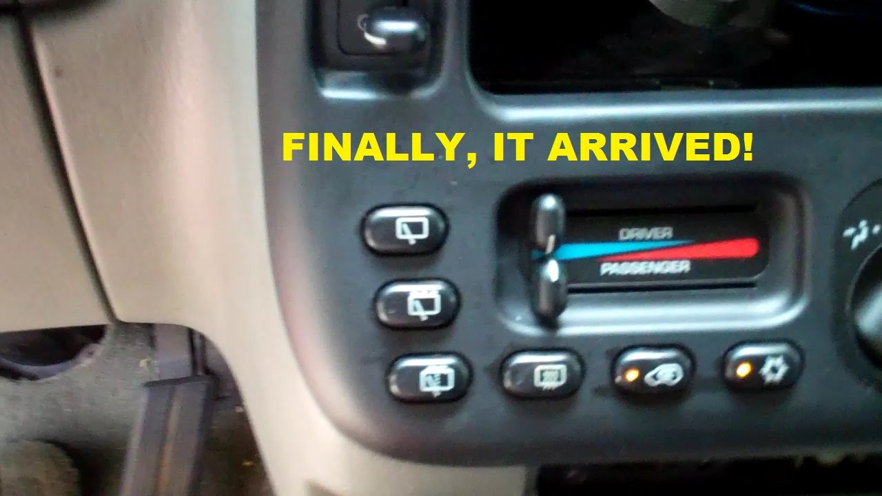 Replacing A Damaged Climate Control Panel Dodge Caravan Youtube 1991 Fuse Box