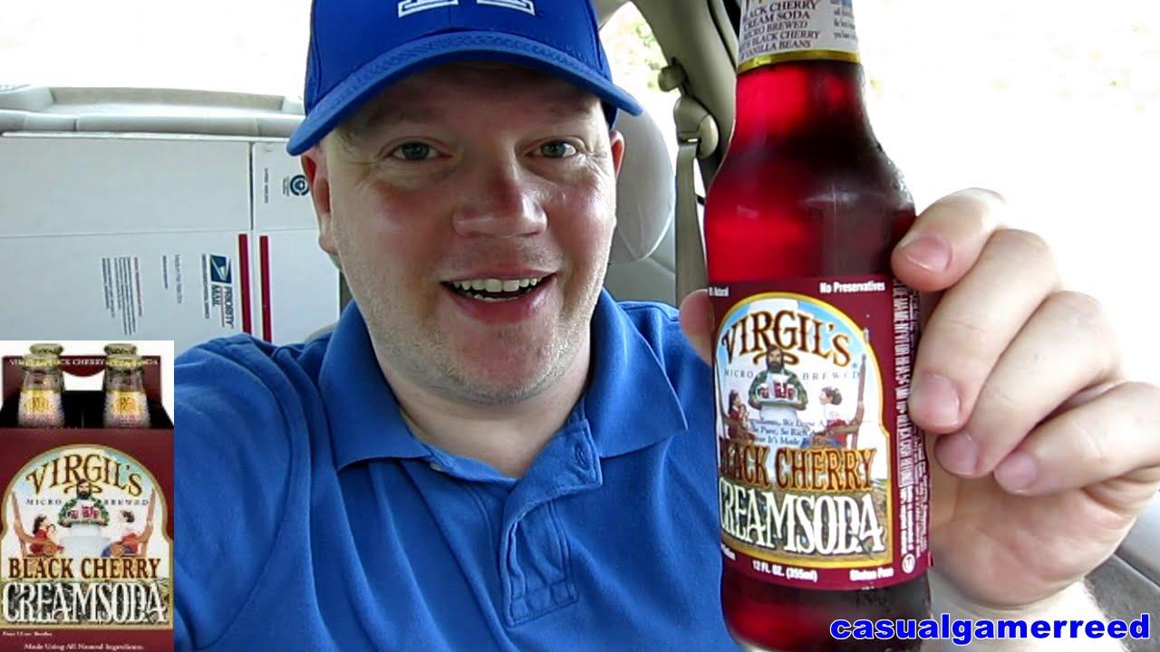 Reed Reviews Virgil39s Black Cherry Cream Soda YouTube