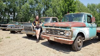Fixing and Driving the Revival Trucks