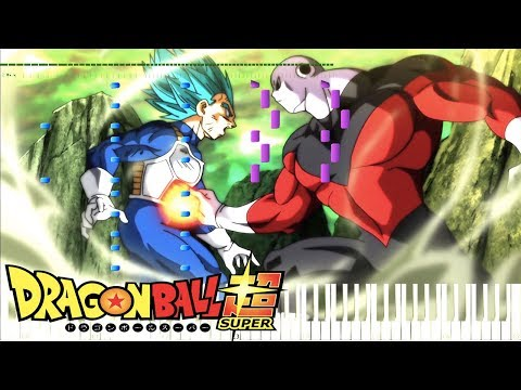 All-Out Battle! Vegeta Vs Jiren!  - Dragon Ball Super OST , Episode 122 (Piano Tutorial) [Synthesia]