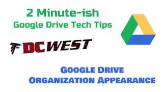 Google Drive Appearance