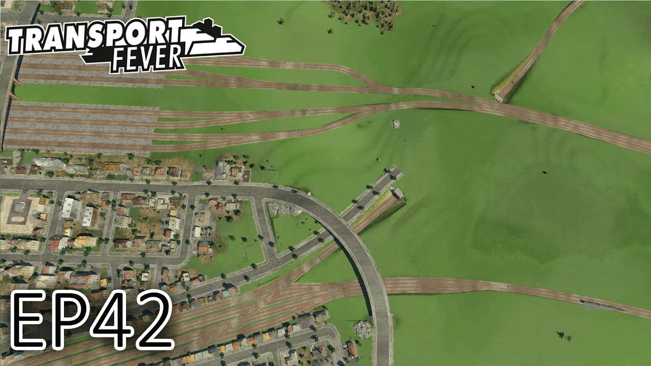 transport fever gameplay complex railway junctions the great lakes s2 episode 42