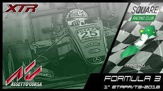 Square Racing Club Formula 3 @ Macau - 1ª Etapa T3/2018
