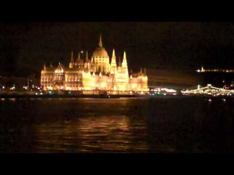 Budapest by Night - Danube River - April 22, 2017