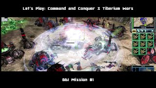 GDI Mission 01   Let's Play: Command and Conquer 3 Tiberium Wars
