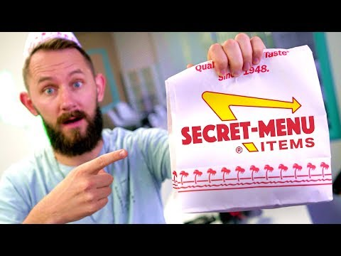 Trying The Secret Hidden Menu From 'In-N-Out'!