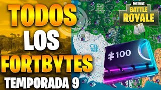 All Fortbytes Season 9 Fortnite I How to Get All Fortbytes Super Easy I THOERTS
