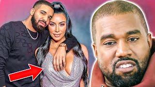 Kanye West REACTS To Drake Dating Kim Kardashian