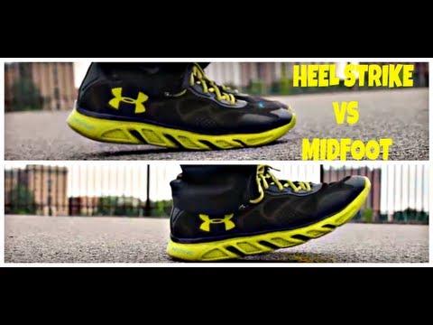 Running Form for beginners: Heel Strike versus Midfoot