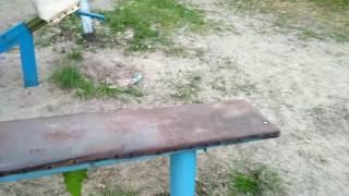 Гніздо синиці в трубі (Гідропарк) / гнездо синицы в трубе (гидропарк) /Tits nest in a pipe