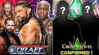 WWE Draft 2021 BIG SPOILER Leaked WWE Crown Jewel 2021 MATCH CARD Drew Mcintyre on Smackdown