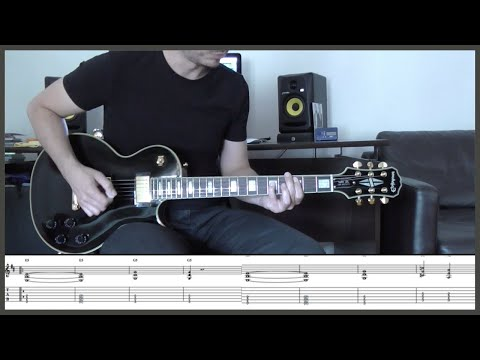 METALLICA - FOR WHOM THE BELL TOLLS (Guitar cover with TAB)