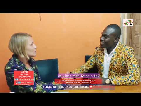 Problems facing Ghanaian textile manufacturing Company's