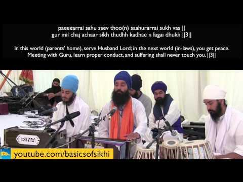 The pain of Bairaag - with Bhai Rajan Singh @ BOSS Sikhi Camp 2013