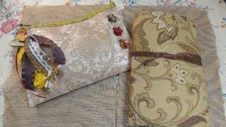 Custom Order for Diana \ JJ Kit \ Booksmith Planner Fabric Wrap Around Junk Journal