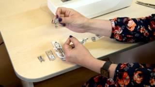Лапки для швейных машин. урок 2