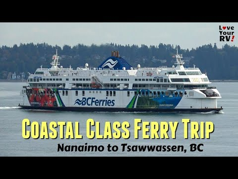 BC Ferry Sailing Aboard The Coastal Inspiration (Duke Pt To Tsawwassen)