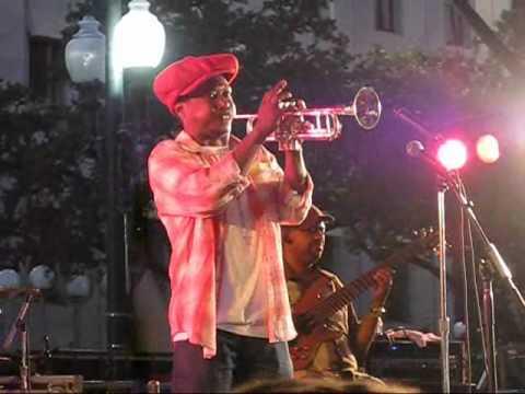 Kermit Ruffins & the Barbecue Swingers (1 of 2) @ Lafayette Square in New Orleans, LA -- 10/13/2010
