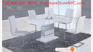 Modern Dining Sets, Availalbe in our Furniture Store in Booklyn NY 11223
