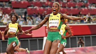 Jamaica's Thompson-Herah sets Olympic record in women's 100 meters • FRANCE 24 English