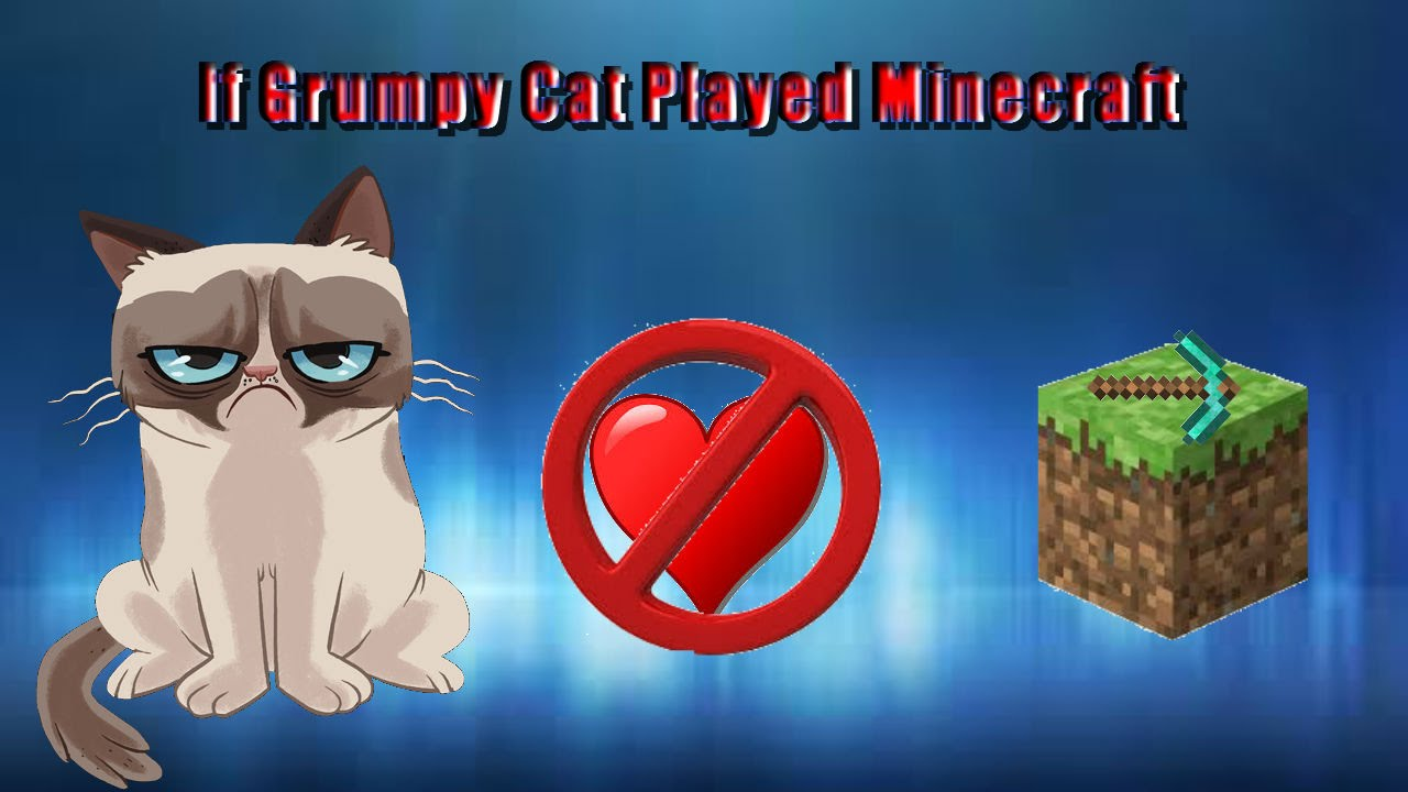Star Wars Animated Wallpaper If Grumpy Cat Played Minecraft Youtube