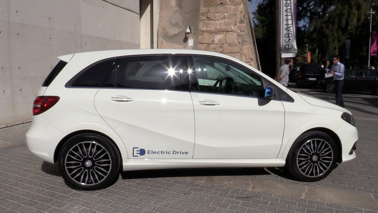 2015 Mercedes Benz B Klasse Electric Drive Fahrbericht Youtube