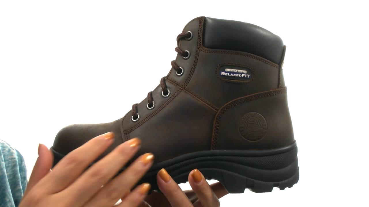679ed50cff9cb SKECHERS Work Workshire - Peril SKU:8806915 - YouTube