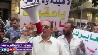 ملاك الحزام الأخضر ينددون بقرار سحب أراضيهم أمام الوزراء..فيديو