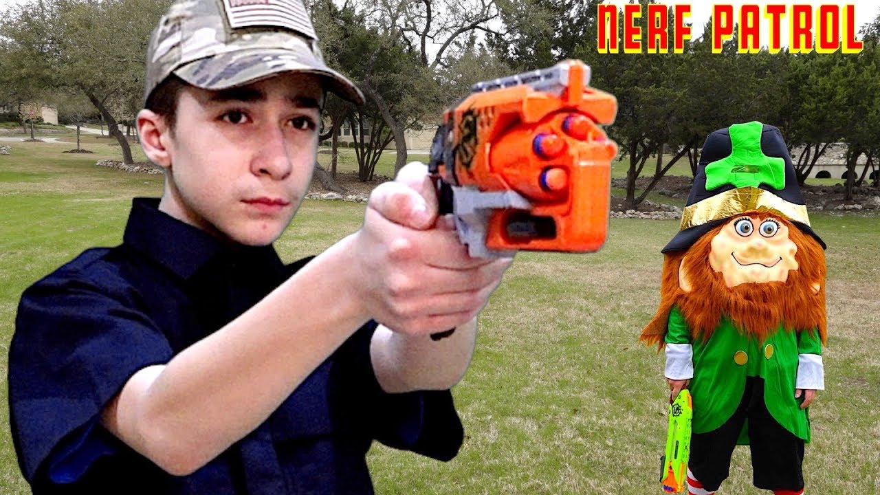 Nerf Patrol and the St. Patricku0027s Day Battle  sc 1 st  YouTube & Nerf Patrol and the St. Patricku0027s Day Battle - YouTube