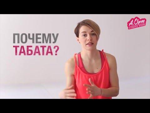 Табата для похудения -  всего 12 минут в деть  [ Fitness Room with A.Usova ]