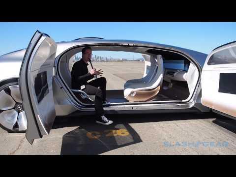 Mercedes Benz F 015 Walkthrough (live coverage in SF)