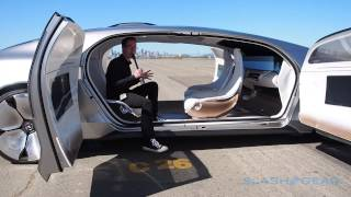 Mercedes Benz F 015 Walkthrough (live coverage in SF)